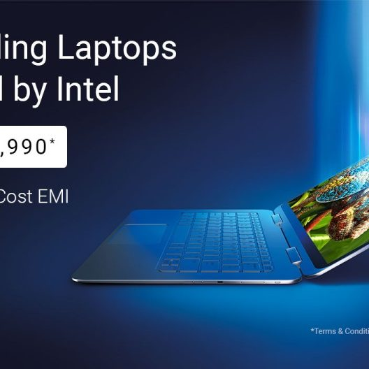 Bestselling laptops powered by Intel . From ₹10,990